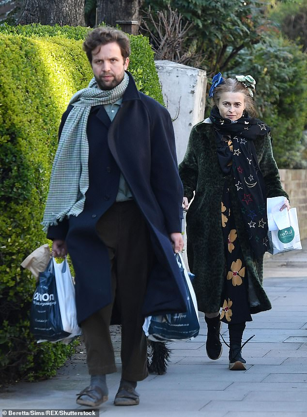 New love:During the interview with the Guardian , Helena also opened up about how she met her current partner, Rye Dag Holmboe, 32, at a wedding two years ago