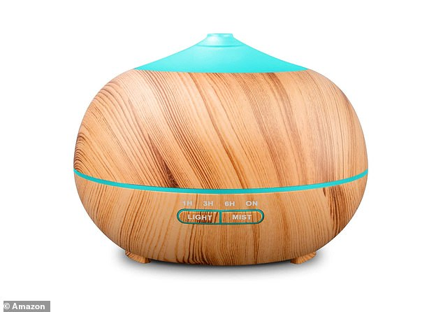 Other reviewers claim the Tenswall Essential Oil Diffuser helps support a restful nights sleep