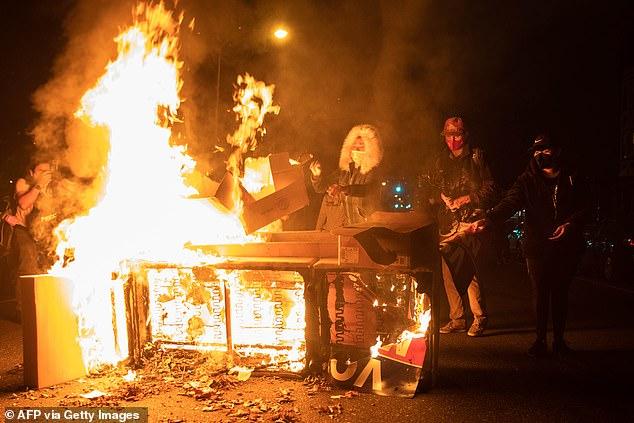Riots in Philadelphia last week over Walter Wallace Jr's death