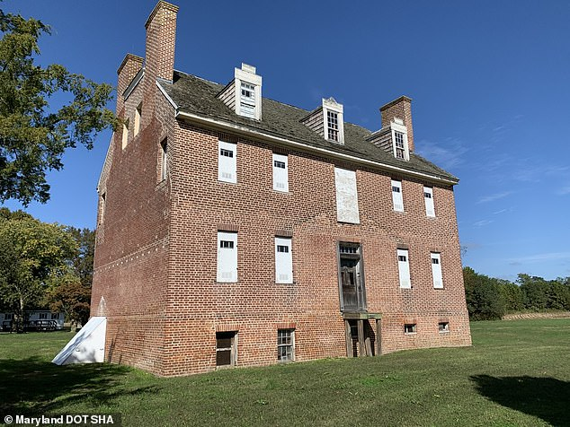 The artifacts sit 'just a stone's throw' from an 18th century brick manor that was once occupied by Jesuit missionaries