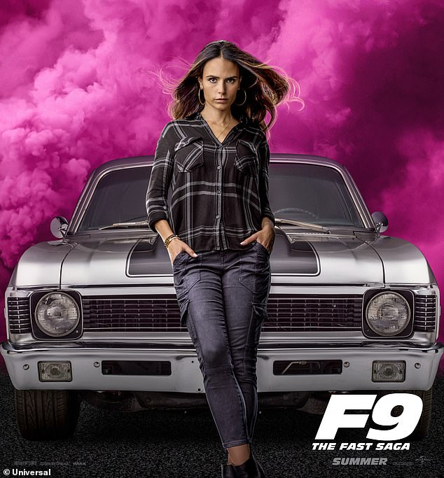Famous role: Brewster will next be seen in F9, the latest installment in the Fast And Furious franchise that's slated to be released in May 2021 after being pushed back due the pandemic