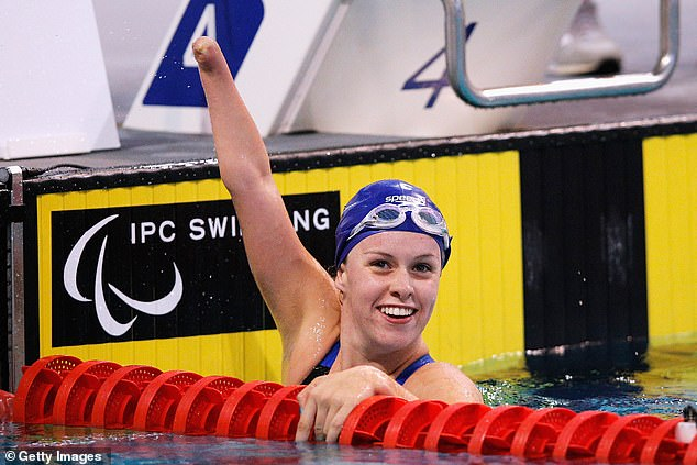 Anger: Star Paralympic athlete Amy Marren of Great Britain is leading a charge against The Witches