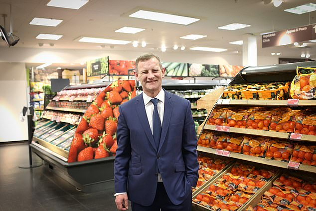 Marks & Spencer chief exec Steve Rowe said he was 'lobbying hard' for an extension to opening hours on Sundays to help retailers