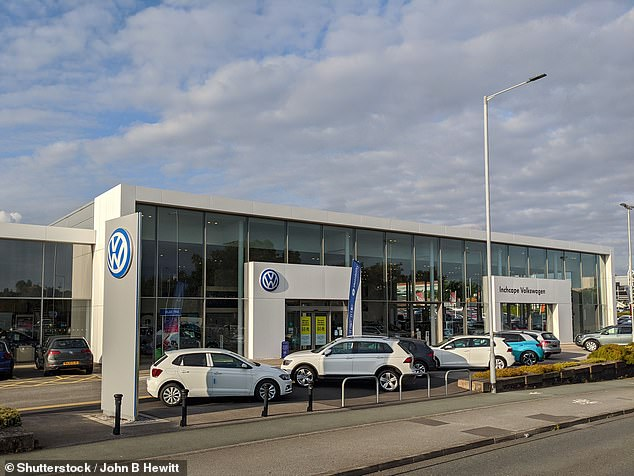 Experts say car dealers in England are better prepared to cope with a second-round lockdown, with many have 'click & collect' provisions in place so customers can order their cars online and collect them under social-distanced measures