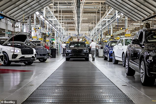 By 2030, Bentley would have ditched gas-guzzling petrol engines for the first time in its 111-year history