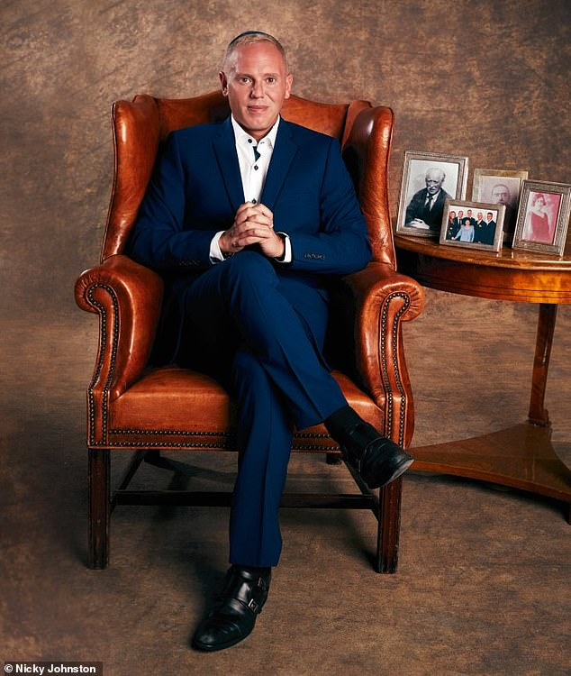 TV's Judge Rinder (pictured) took his mother to Treblinka concentration camp as part of his new documentary exploring his links to the Holocaust