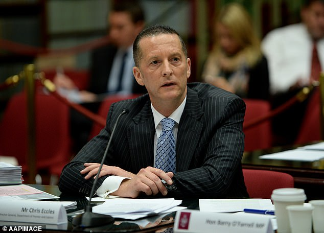 Department of Premier and Cabinet secretary Chris Eccles quit after it was revealed he had spoken to Victoria Police chief Graham Ashton about hotel security
