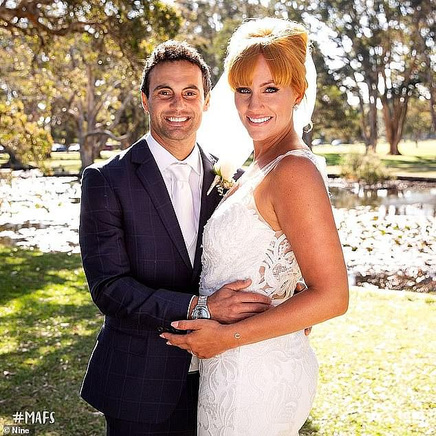 Where it all began: Jules and Cameron met on season six of Channel Nine's Married At First Sight, which was filmed in late 2018 to early 2019. After falling madly in love, they became engaged at the end of the experiment