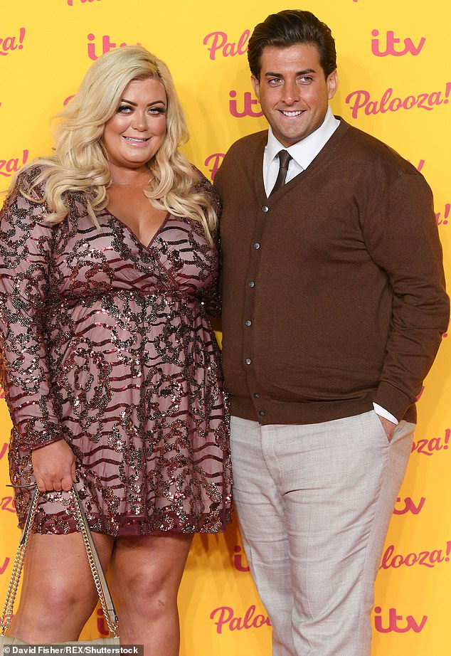 Back on? It comes after the Essex diva was recently spotted on a 'flirty date' with ex-boyfriend James Argent (pictured in 2018)