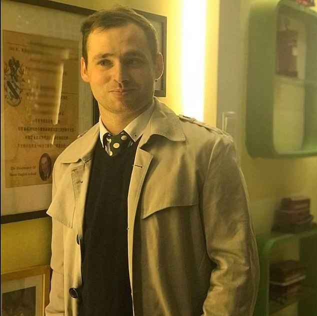 Connor Reed (pictured), the first British national believed to have caught coronavirus late last year, was found dead in his dorm at Bangor University on October 25