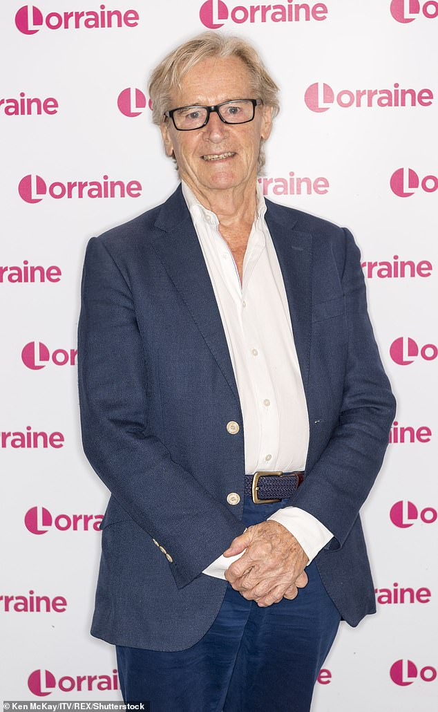 Ageing secrets! Coronation Street legend Bill Roache, 88, has admitted that he believes he is getting younger every year due to thinking positively (pictured in 2019)