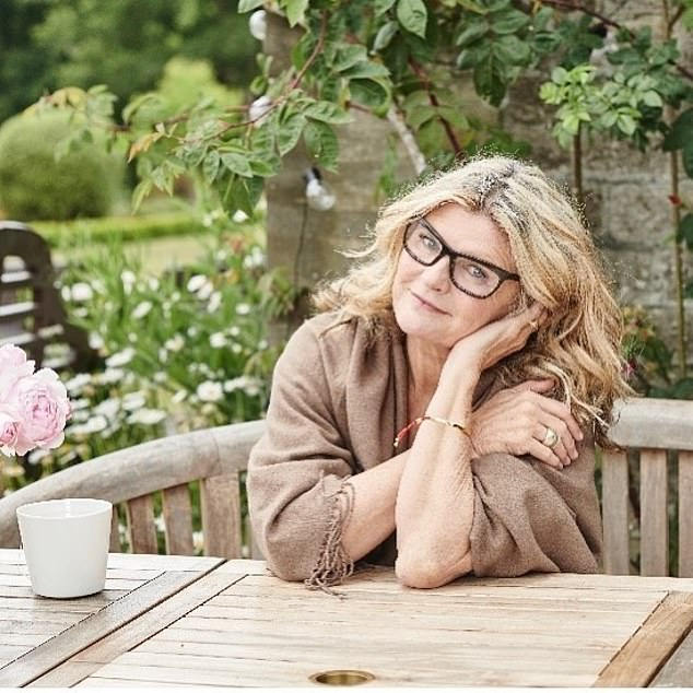 Susannah Constantine (pictured) reveals she was a 'highly functioning' alcoholic 20 years ago when she was telling us What Not To Wear on her hit TV show