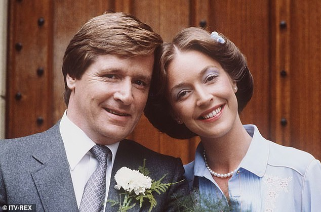 He's going nowhere! The actor also insisted that he has no plans to retire his character Ken Barlow as the soap gears up to celebrate its 60th anniversary (pictured in 1981 soap still)
