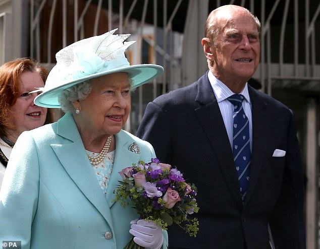The Queen and Prince Philip have reunited for England's new lockdown, forming a renewed 'HMS Bubble' at Windsor Castle. They are pictured in December 2016