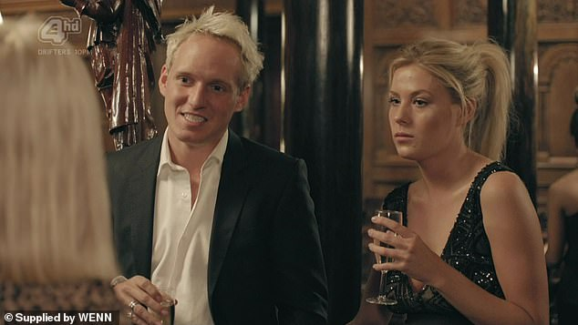 It was a nice 'in': The former Made In Chelsea star said his great-grandfather did start McVitie's which made a nice 'in' when he started the show (pictured on the reality series)