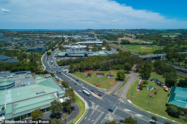The suburbs where it is cheaper to buy a property rather than rent for years on end have been revealed (pictured, aerial view of Campbelltown)