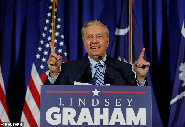 Lindsey Graham, re-elected on Tuesday to the Senate, said he would work with Biden if elected