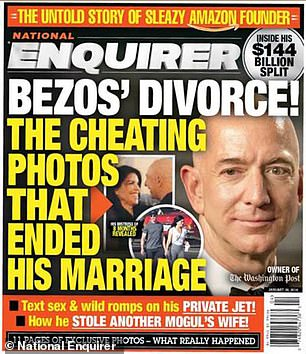 In January of last year, the National Enquirer made public the affair between Bezos and Lauren Sanchez. Michael Sanchez's suit claimed Bezos told reporters that he was responsible for the leak