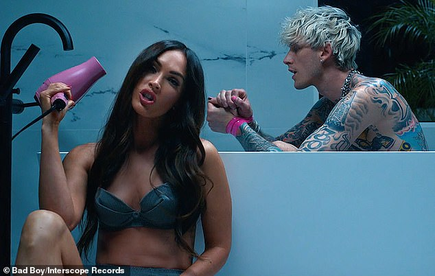 Video vixen: She also starred in the music video for his single Bloody Valentine, which dropped shortly after they were first spotted together