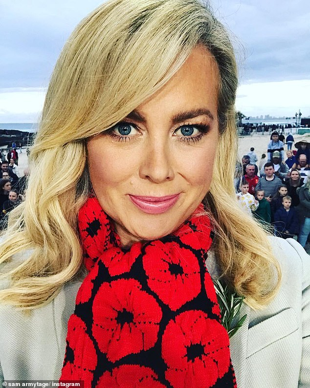 Heartbreaking:The Sunrise presenter, 44, announced the sad news in an emotional Instagram post on Saturday