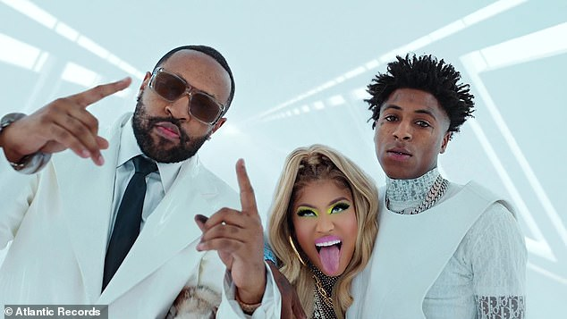 New video:Friday also marked the release of the video for the producer and rapper Mike WiLL Mad-It's What That Speed Bout?!, which featured Nicki with YoungBoy Never Broke Again