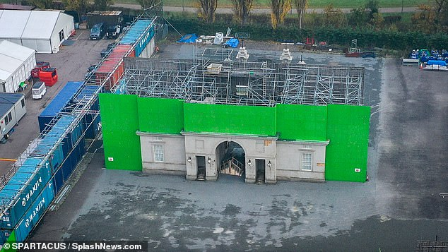The hit Netflix series, which returns with season four on November 15, uses mock ups of Buckingham Palace and Downing Street to film the exterior scenes