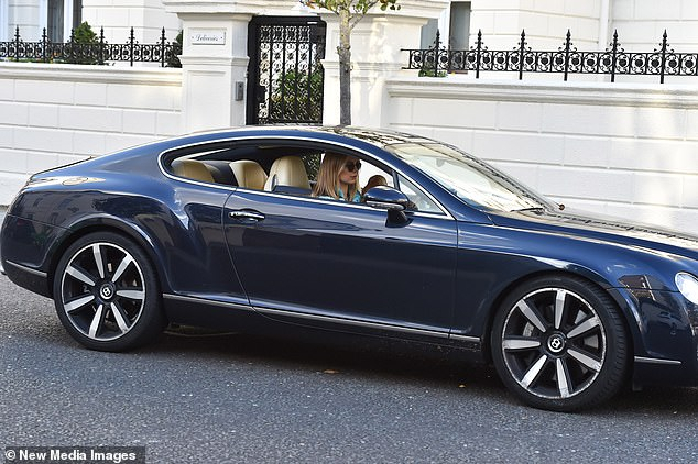 Living the life:The socialite splits her time between her homes in London and Miami after purchasing a dream pad in the coastal city in December 2018