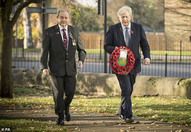 Instead, those in attendance will be required to stand outside during events across the nation - raising fears elderly war heroes could be exposed to pneumonia