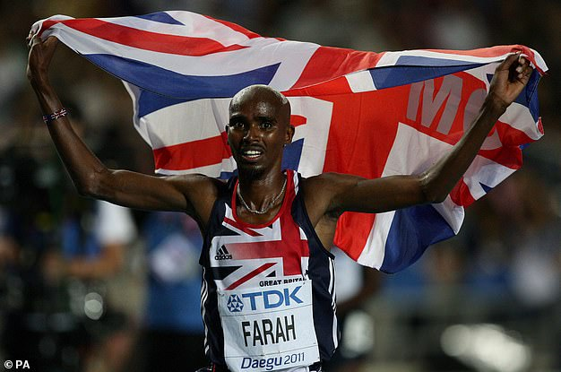 Roll in the dough: Sir Mo Farah is another big name who should be fighting in this spooky place