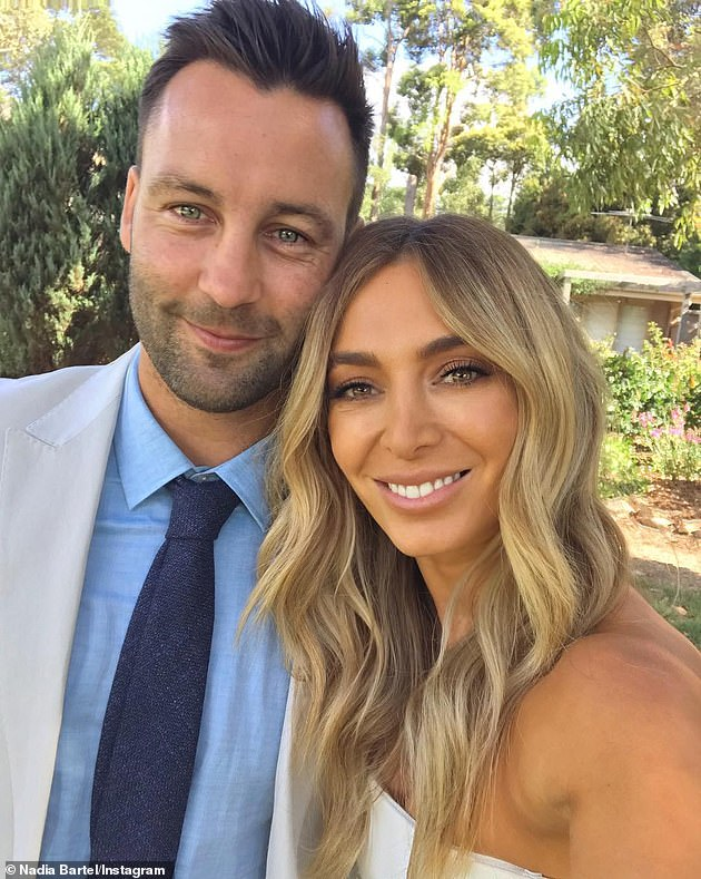 Decisions, decisions: Nadia's maiden name is Coppolino and she has no plans to revert to it; however, she admitted she might see things differently one day. Pictured with her ex Jimmy