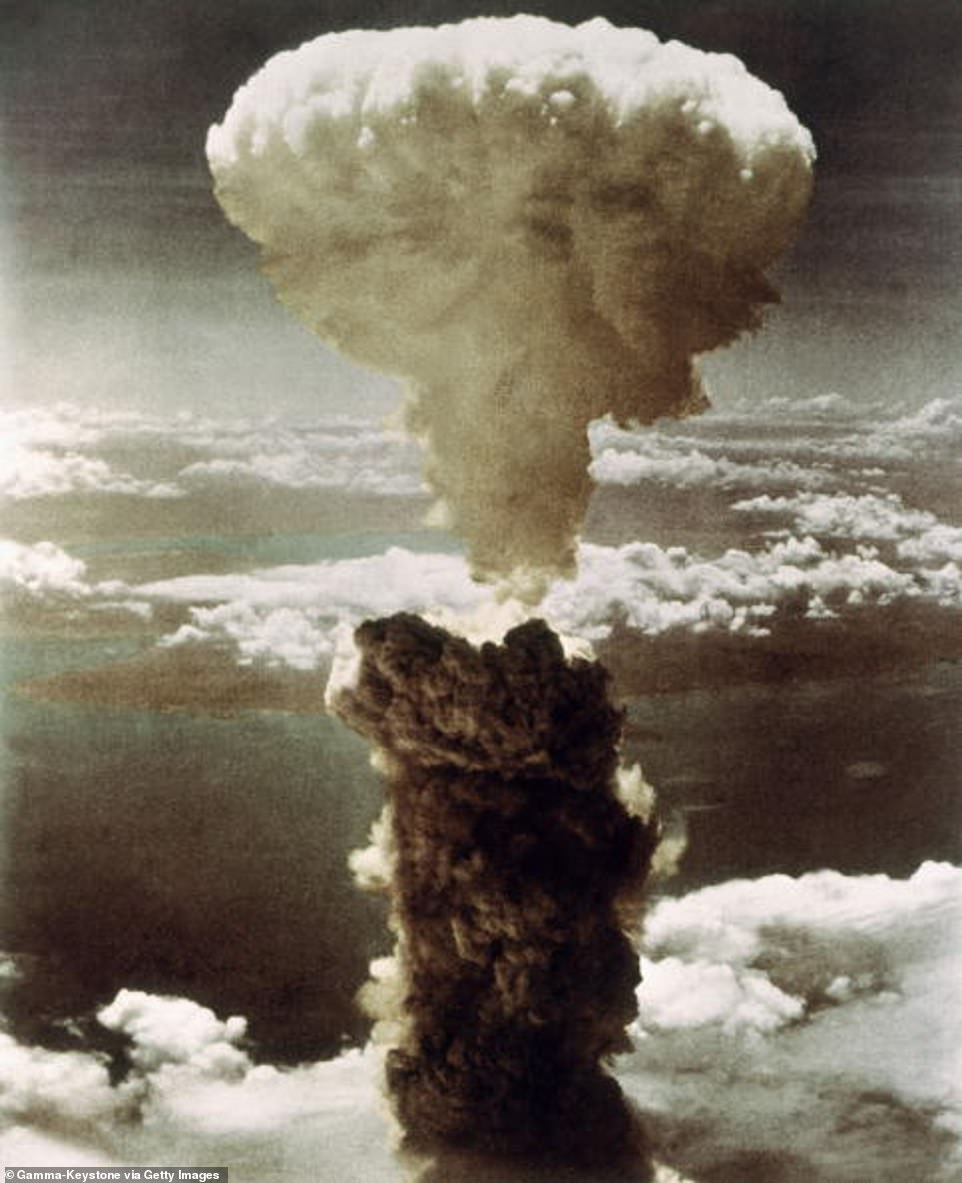 The Manhattan Project in World War II led to the development of the atomic bomb (pictured)