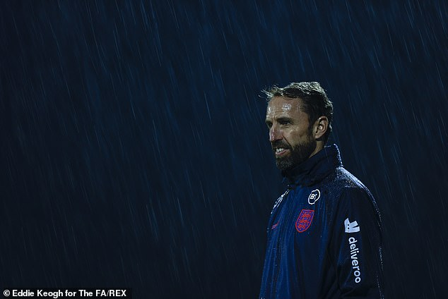 Gareth Southgate left Greenwood from his England squad so he could train at Carrington