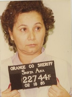 Griselda went from growing up in a slum in the cocaine cartel city of Medellin, Colombia, to ruling a $2billion empire. Pictured in a 1985 mugshot