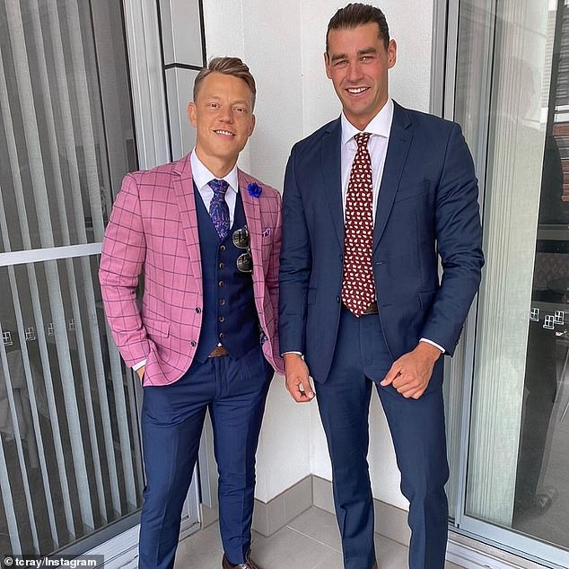 New show? Fans of the dating franchise are also hopeful a Bachelor In Paradise spin-off could be set for Sydney. Pictured Adam Todd and Trent Cray