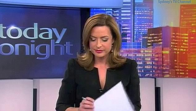Tough:During the 2013 segment, Helen made a valiant effort to fill in the awkward silences when she was left without a script or an autocue for a minute and a half.The video circulated on YouTube and attracted more than 990,000 views