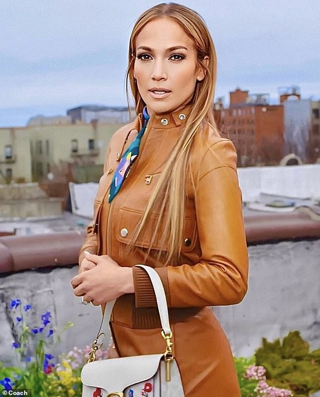 Excited:After it was announced last years that she would represent Coach globally, Lopez could not help but express her excitement over the new venture and her love for the New York-based brand