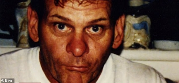 Arthurell (pictured) was also jailed for the manslaughter of naval officer Ross Browning in the Northern Territory in November 1981and his stepfather Thomas Thornton in Sydney in May 1974