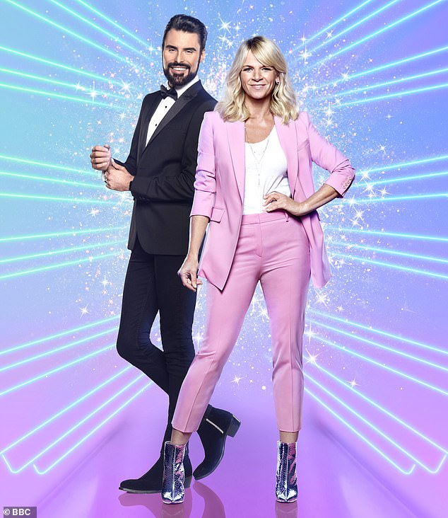 Dynamic duo:Rylan has been presenting It Takes Two with Zoe Ball on various days, with the pair unable to host together this series due to the COVID-19 pandemic