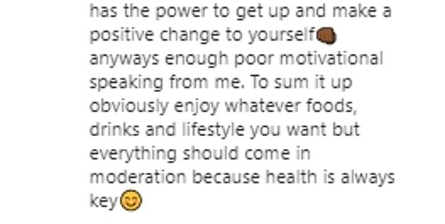 Reflection: Writing a heartfelt statement to Instagram in 2016, the dancer-turned-presenter reflected on his weight loss journey and thanked his brother Ashley Banjo for helping him.