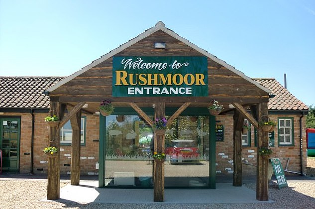 Jane, Cassey's mother, runs the visitor site at Rushmoor Country Farm Park (pictured) in Louth, Lincs, with her daughters Jade, 27 and Alicia, 22.
