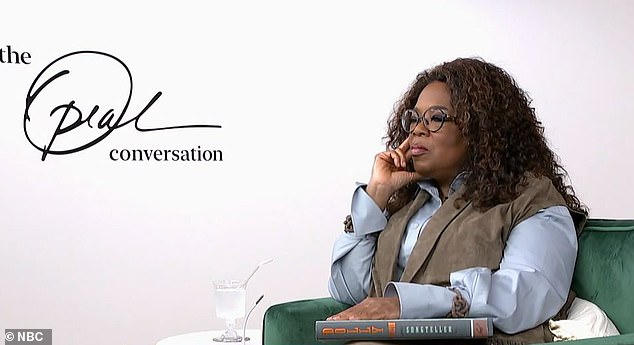 """""""As you get through each age, I want to know what impact, if any, this number has on you?  Winfrey asked"""