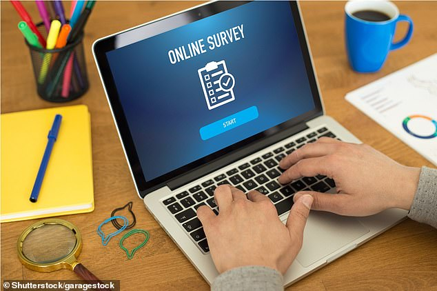 Doing online surveys can earn households hundreds of pounds if they consistently take them