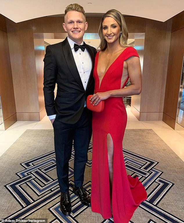 Adam Treloar has lashed out at his former club Collingwood after they blamed his wife Kim's move to Queensland as the reason for his departure