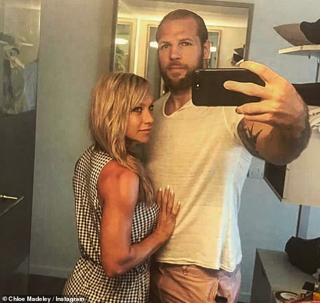 Anytime, anyplace: The reports come after Chloe caused a stir last month by revealing that her husband James often makes sexual advances in the middle of 'dangerous' situations