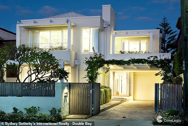 Mr Hemmes has given his Ms Fowler a $7.5million mansion in Dover Heights, Sydney's eastern suburbs (pictured)