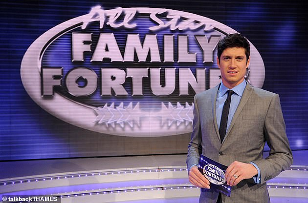 She added: 'He got to give an apology on the radio and just got to carry on, with Family Fortunes, ironically. It still makes me feel physically sick' (Vernon pictured in 2012)