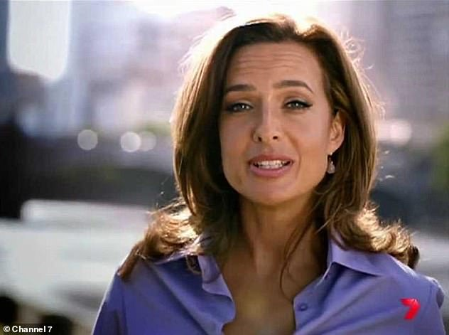 Ouch!In February 2013, Helen moved to Channel Seven where she became the face of Today Tonight (pictured). It was in that year when she suffered an on-air gaffe that would make television history