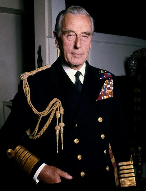 Respected: He previously been working as the Chief of Defence staff, but had retired from the navy in 1965 (pictured before his death)