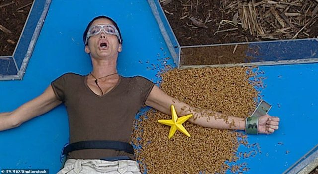 Outspoken: But model Janice Dickinson broke an I'm A Celebrity record when she was voted to take part in 10 Bushtucker Trials, and didn't hold back when it came to ruffling feathers in camp