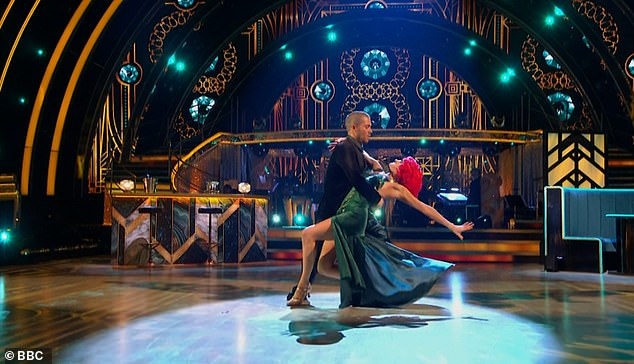 Strictly's Max George has apologised after swearing live on air